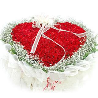 99枝红玫瑰/浓情似火-订花人鲜花