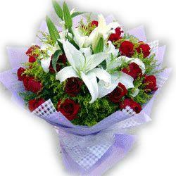 16枝红玫瑰/静静的爱