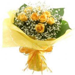 12枝黄玫瑰/忘了吧