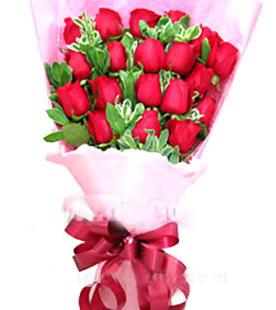 18枝红玫瑰/魅力佳人-订花人鲜花