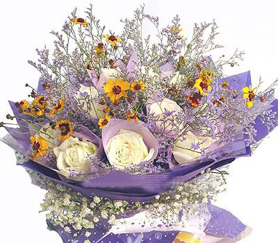13枝白玫瑰/爱情的果实-订花人鲜花