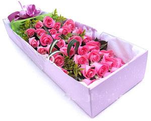 33枝粉玫瑰/甜蜜蜜-�花人�r花