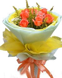 8枝粉玫瑰/深深的问候-订花人鲜花