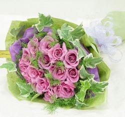 21枝紫玫瑰/爱你每一天