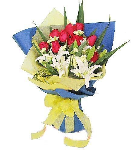 10枝红玫瑰/爱相随-订花人鲜花