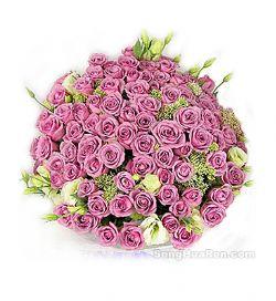 99枝紫玫瑰/紫色的爱