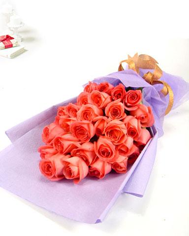 29枝粉玫瑰/恋之初-订花人鲜花