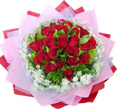 20枝红玫瑰/两情相悦-订花人鲜花