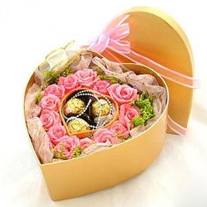 17枝粉玫瑰/知心爱人-订花人鲜花