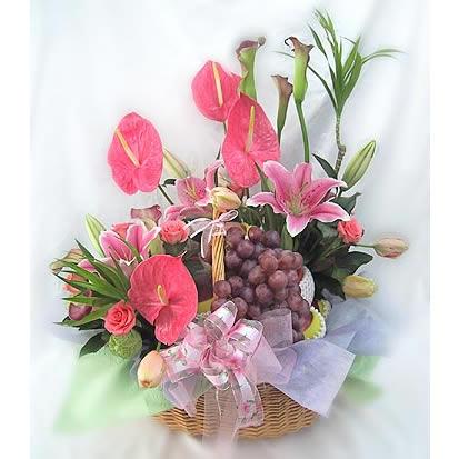 果篮/美满一生-订花人鲜花