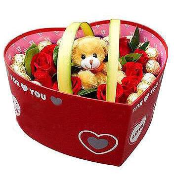 11枝红玫瑰/让爱靠近-订花人鲜花