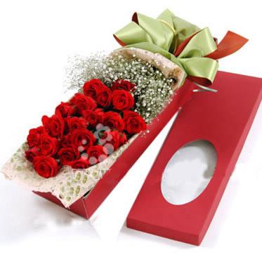 24枝红玫瑰/尽在不言中-订花人鲜花