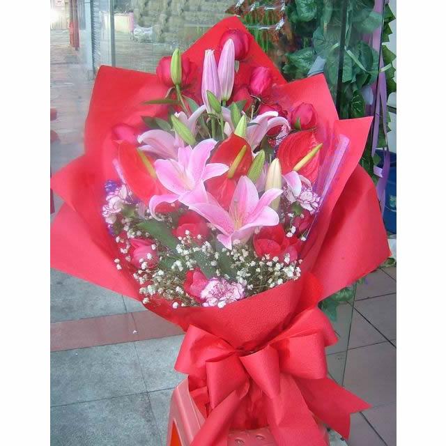 10枝红玫瑰/相约-订花人鲜花