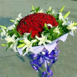 33枝红色玫瑰/特别的爱-订花人鲜花