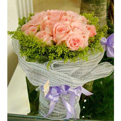 26枝粉玫瑰/思绪-订花人鲜花