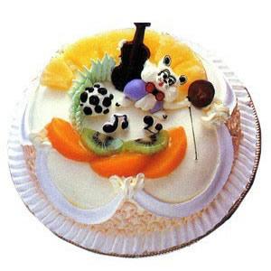 蛋糕/微笑(8寸)-�花人�r花