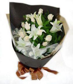 11枝白玫瑰/钟情幸福