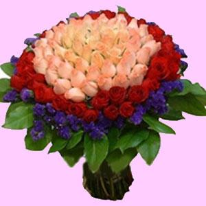 99枝玫瑰/好想拥抱你-订花人鲜花