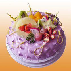�r奶蛋糕/白雪香果(8寸)