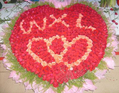 999支超级红玫瑰-订花人鲜花