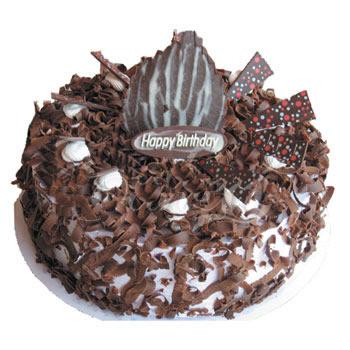 巧克力蛋糕/�湫�(8寸)-�花人�r花