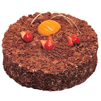 巧克力蛋糕/巧克力木司(8寸)-订花人鲜花