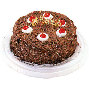 巧克力蛋糕/黑森林迷恋(8寸)-订花人鲜花