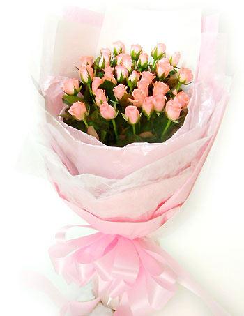 33枝黛安娜玫瑰/佳期如梦-订花人鲜花