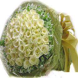 99枝白玫瑰/此生不渝-�花人�r花