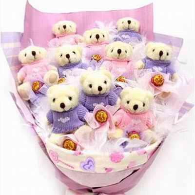 10只小熊/�鄣母杏X-�花人�r花