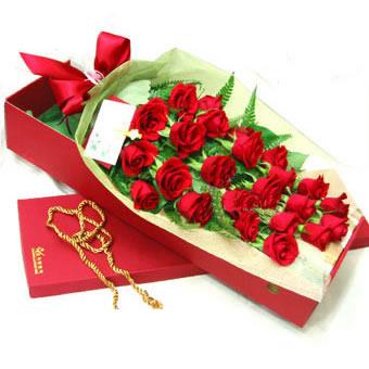 24枝红玫瑰/完美情人-订花人鲜花