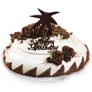 巧克力蛋糕/爱意绵绵(8寸)-订花人鲜花