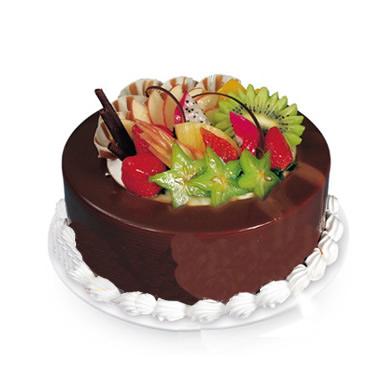 巧克力蛋糕/Honey在心中(8寸)-�花人�r花
