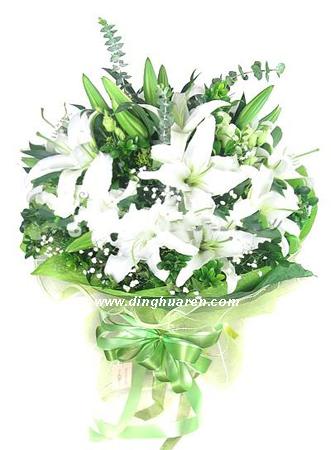 12枝百合/花缘香韵-订花人鲜花