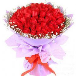 51枝红玫瑰/火红浪漫