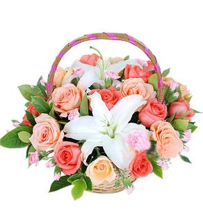 18枝玫瑰/顺心如意-订花人鲜花