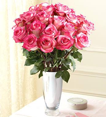 33枝粉玫瑰/优雅-订花人鲜花