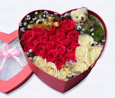 27枝玫瑰/完美-订花人鲜花