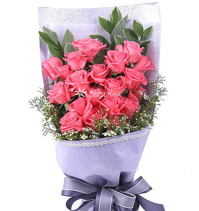 20朵粉玫瑰/此情不渝-订花人鲜花