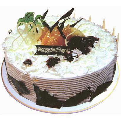 巧克力蛋糕/夏日风情(8寸)-订花人鲜花