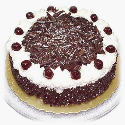 巧克力蛋糕/雪�q花(8寸)-�花人�r花