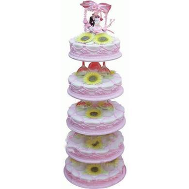 婚庆蛋糕/粉色天空
