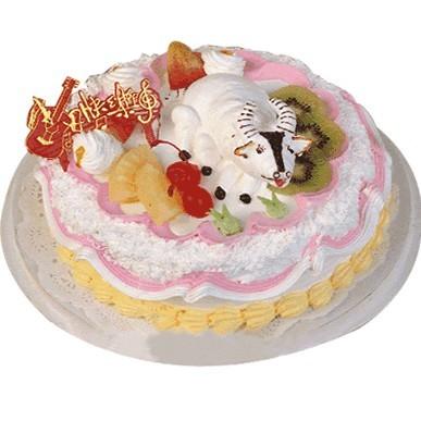 鲜奶蛋糕/踏实耕耘(8寸)