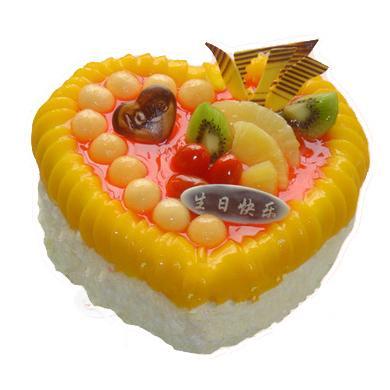水果蛋糕/爱情海洋(8寸)-订花人鲜花