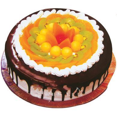 水果蛋糕/情�(8寸)-�花人�r花