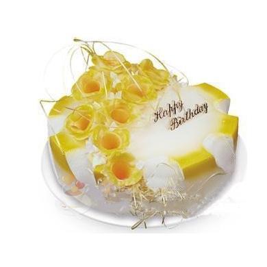 鲜奶蛋糕/流金岁月(8寸)-订花人鲜花