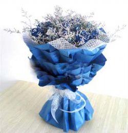 18枝蓝玫瑰/永恒的爱