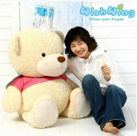礼品/韩国WishWing飞飞熊1.1米-订花人鲜花