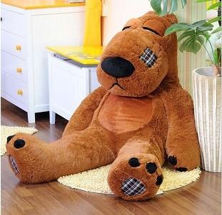 礼品/乞丐熊1.2米-订花人鲜花