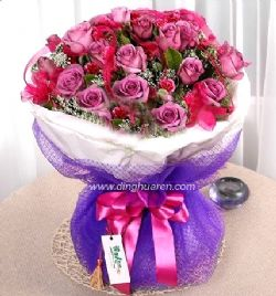 19枝紫玫瑰/无言的歌